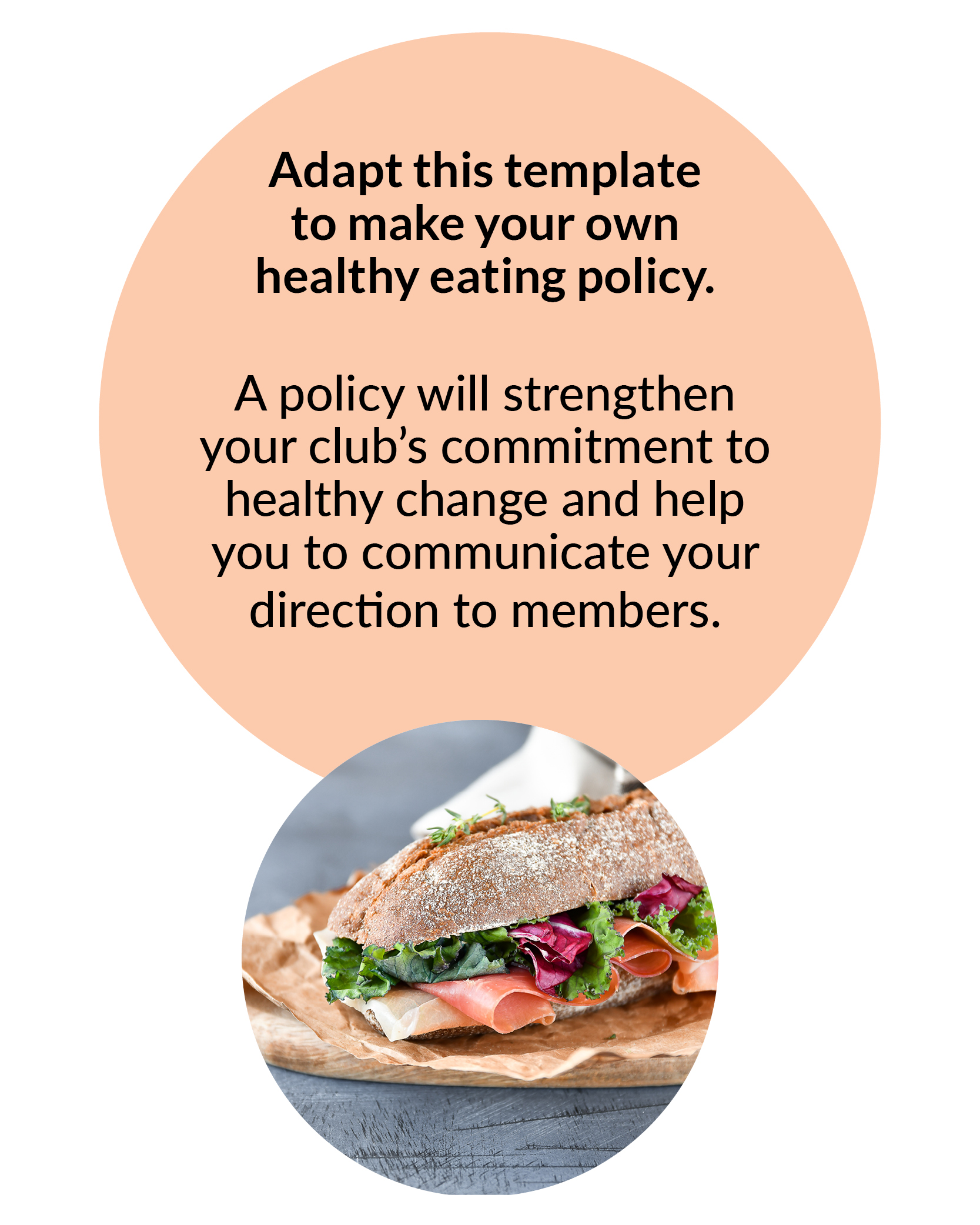Healthy Eating Policy Template