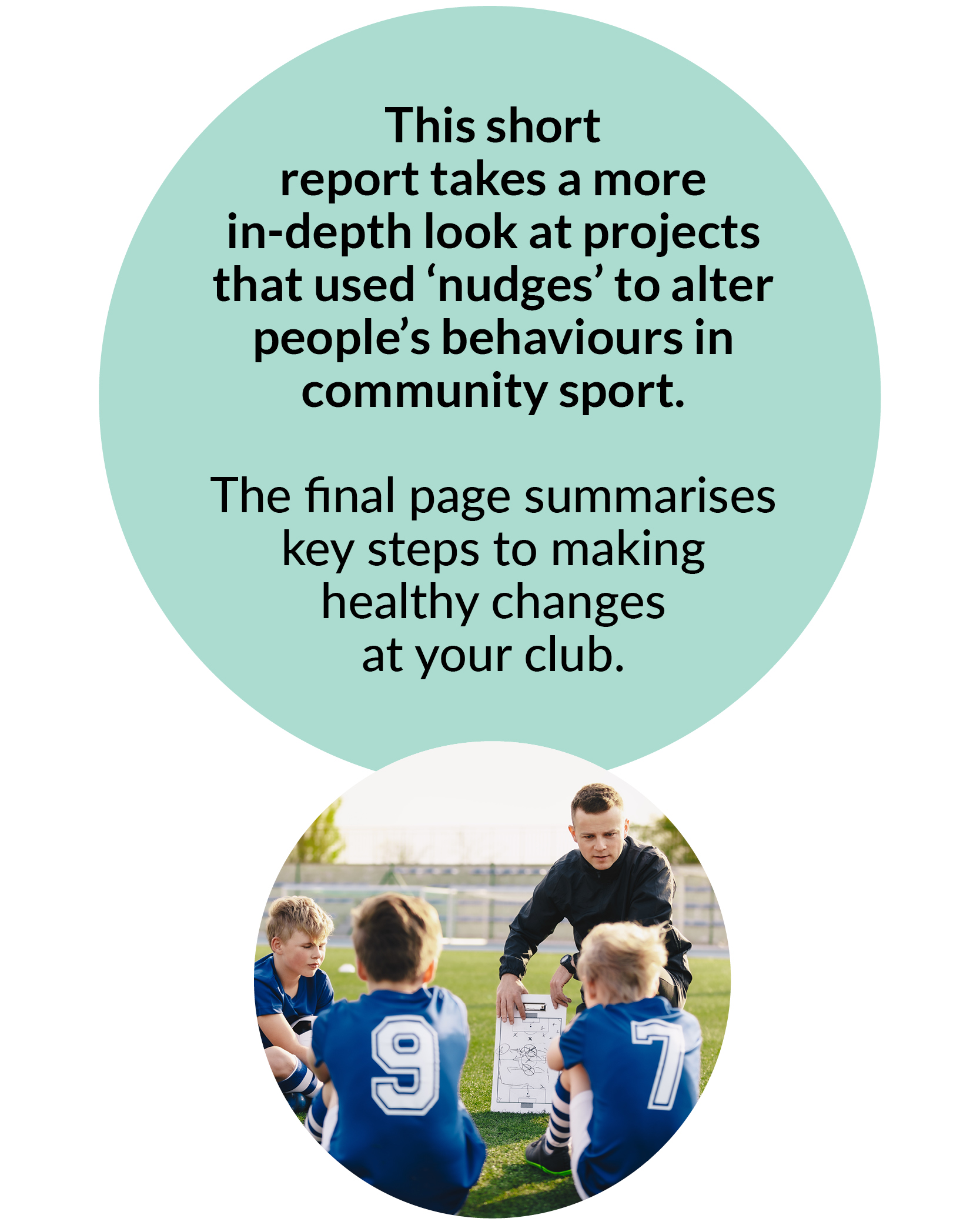 Healthy Food and Drink Choices in Community Sport
