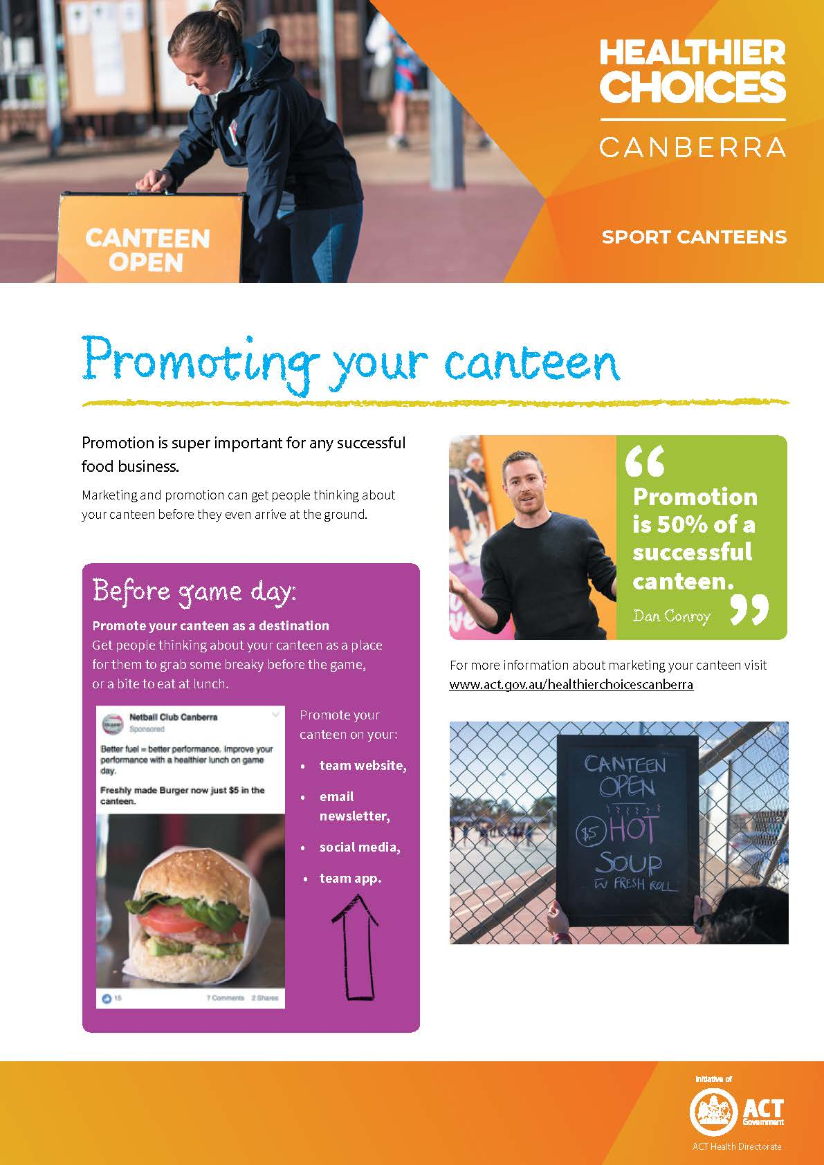 Promoting Your Canteen doc